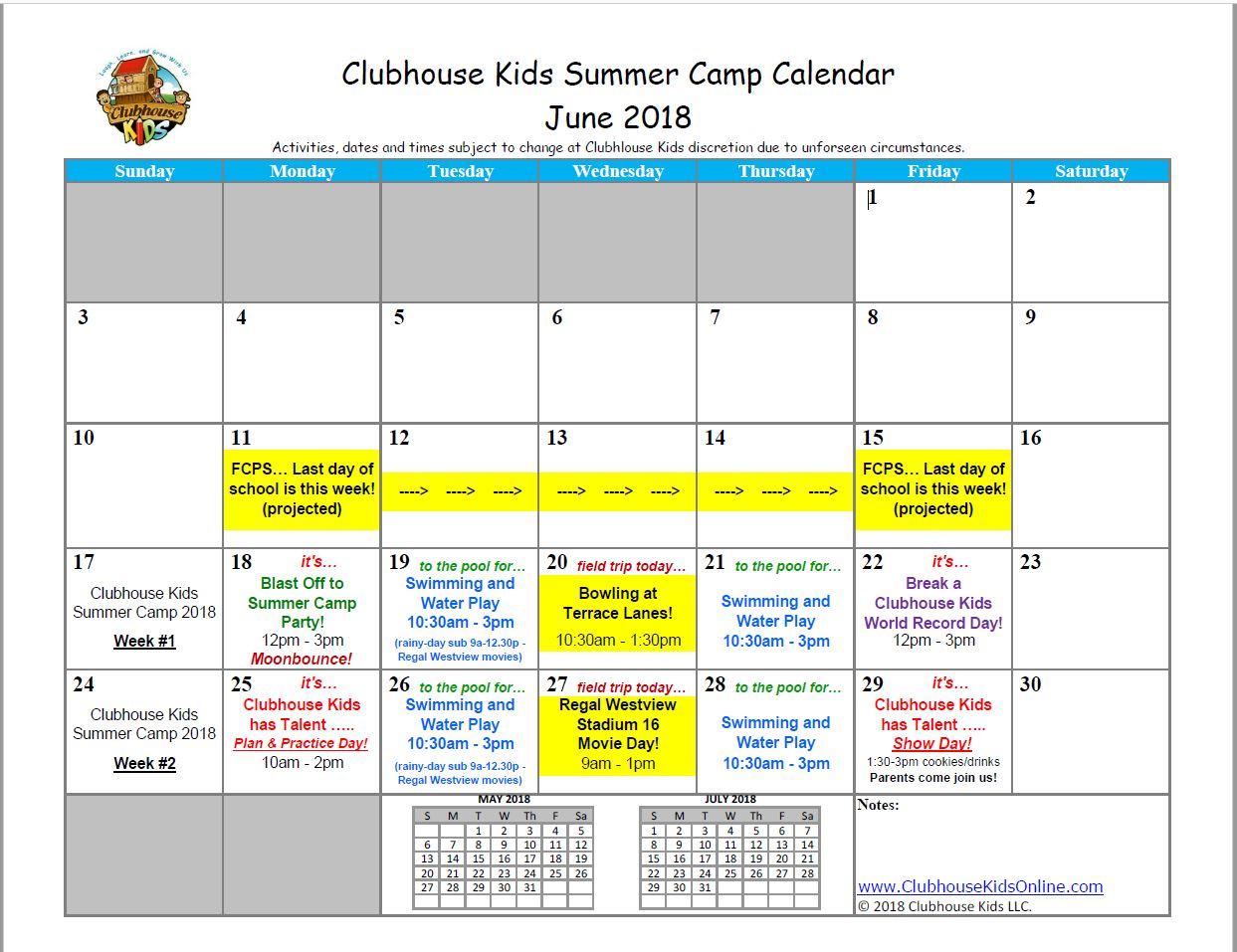 summer camp 2018 calendarjpg